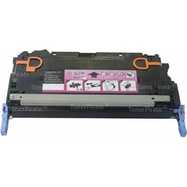 HP 502A Toner Cartridge - Magenta, Premium Compatible (Q6473A)