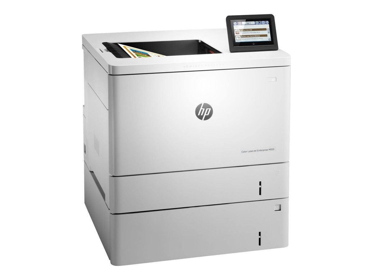 HP Color LaserJet Managed M553xm Color Laser Printer, New (B5L39A)