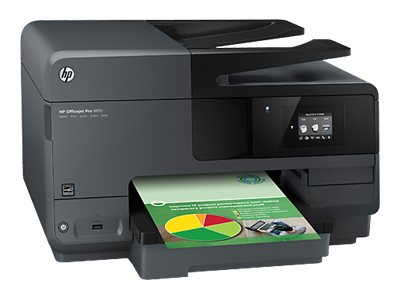 HP OfficeJet Pro 8615 Color Inkjet MFP, Refurbished (D7Z36A)