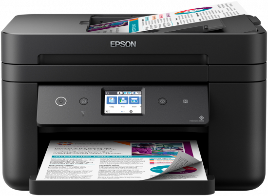 Epson WorkForce WF-2860 Color Inkjet MFP, New (C11CG28201)
