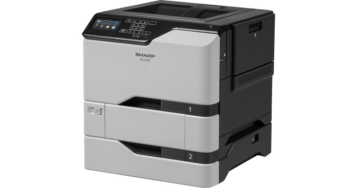 Sharp ,MX-C507P, Color Laser Printer, New (MX-C507P)
