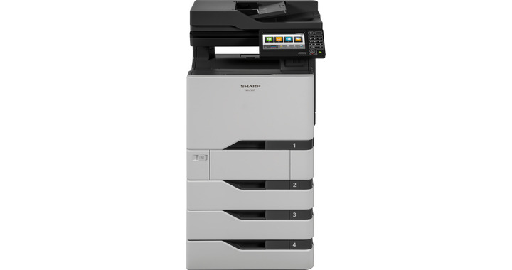 SharpMX-C507F Color Laser MFP, Refurbished (MX-C507F)