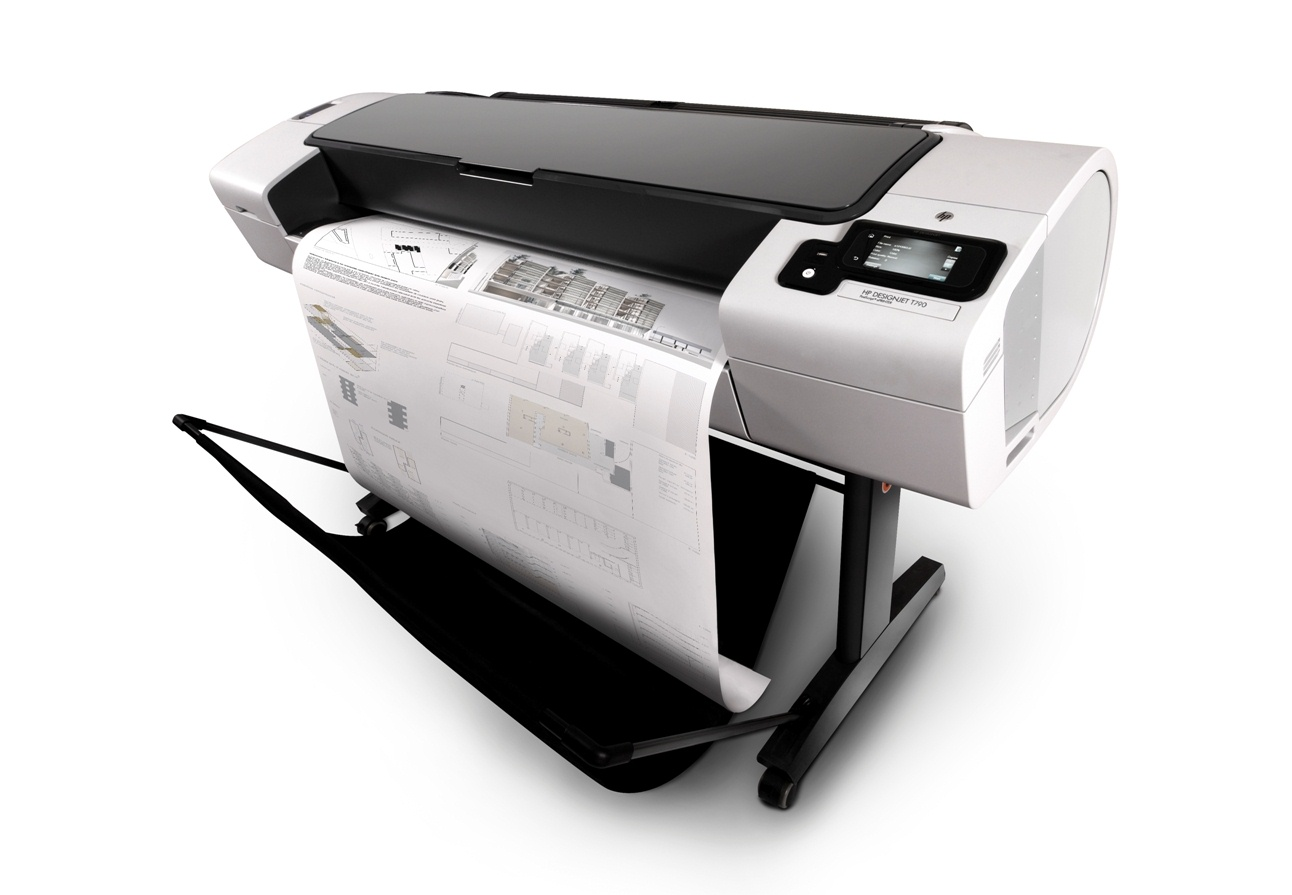 HP DesignJet T790 44-in ePrinter , New (CR649A)