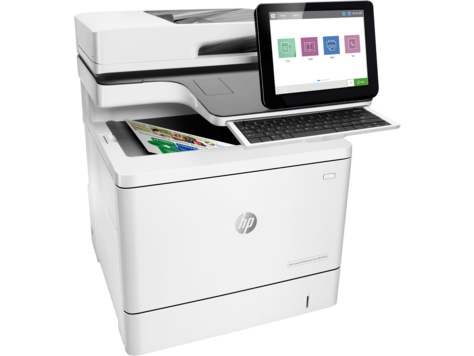 HP LaserJet Enterprise Flow MFP M578z Color Laser MFP, New (7ZU88A)