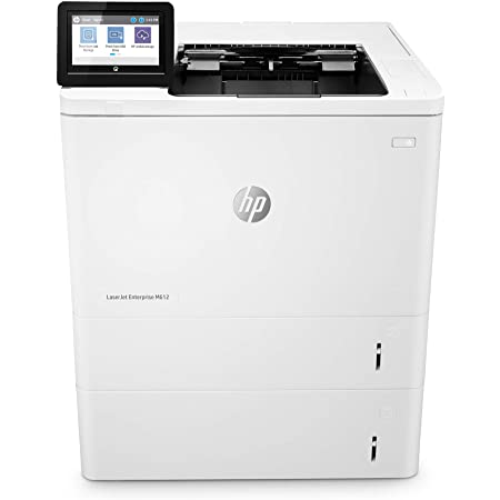 HP LaserJet Enterprise M612x Mono Laser Printer, New (7PS87A)