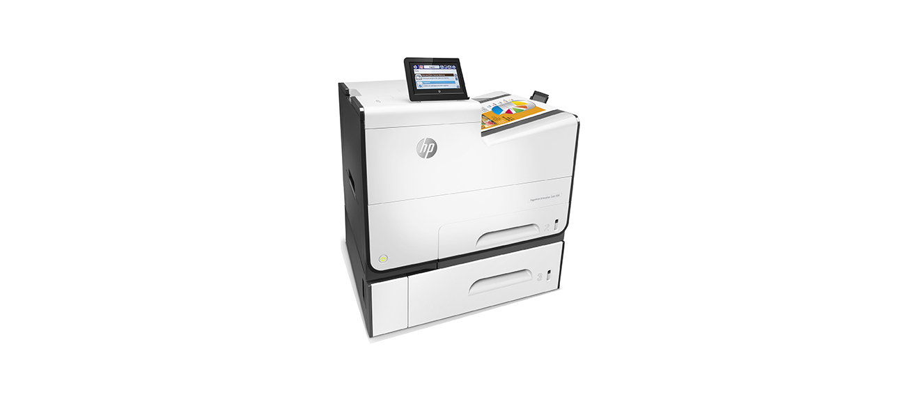 HP PageWide Enterprise Color 556xh Color Laser Printer, New (G1W47A)