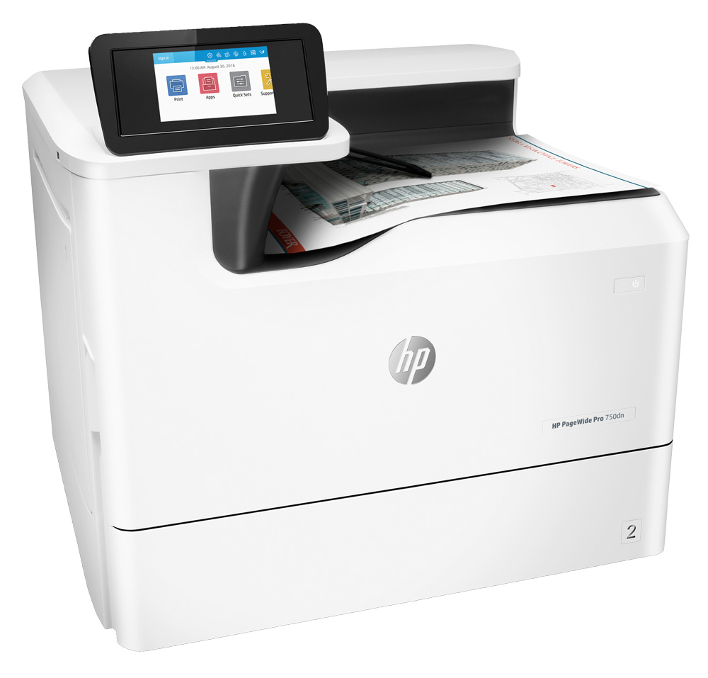 HP PageWide Pro 750dn Color Laser Printer, New (Y3Z44D)