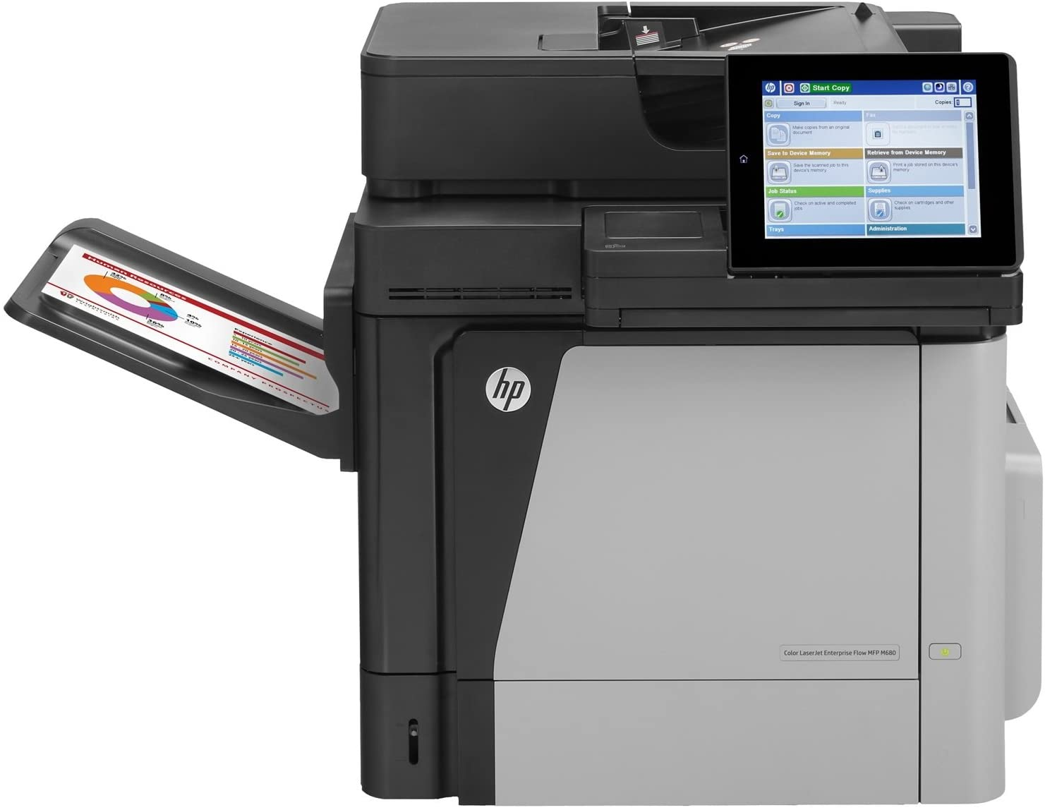 HP Color LaserJet Managed M680dnm Color Laser MFP, Demo (L3U47A)