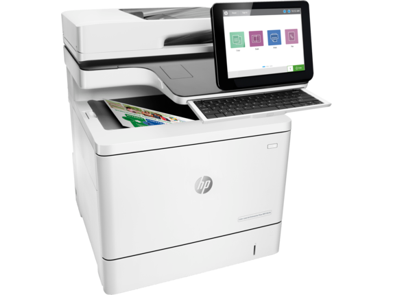 HP LaserJet Enterprise Flow MFP M578c Color Laser MFP, Refurbished (7ZU87A)