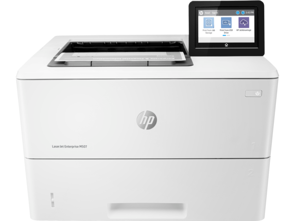 HP LaserJet Enterprise M507dng Mono Laser Printer, Demo (1PV89A)