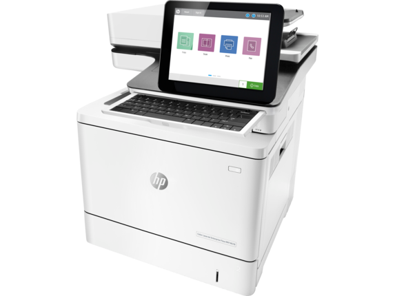 HP LaserJet Enterprise MFP M578f Color Laser MFP, Refurbished (7ZU86A)