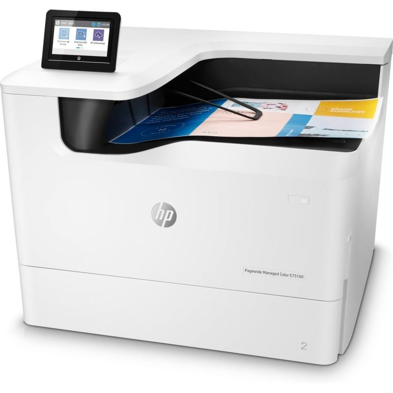 HP PageWide Managed Color E75160dn Color Laser Printer, Demo (J7Z06A)