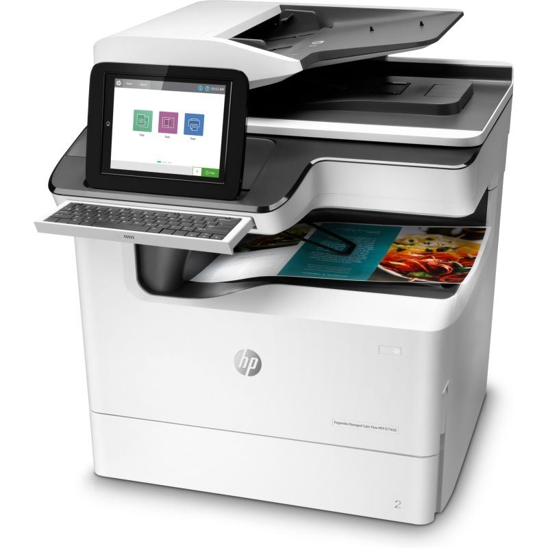 HP PageWide Managed Color Flow MFP E77650z Color Laser MFP, Demo (J7Z08A)