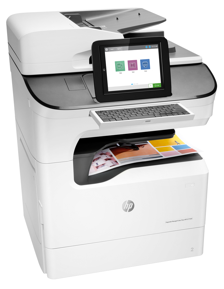 HP PageWide Managed Color Flow MFP E77650zs Color Laser MFP, Demo (J7Z14A)