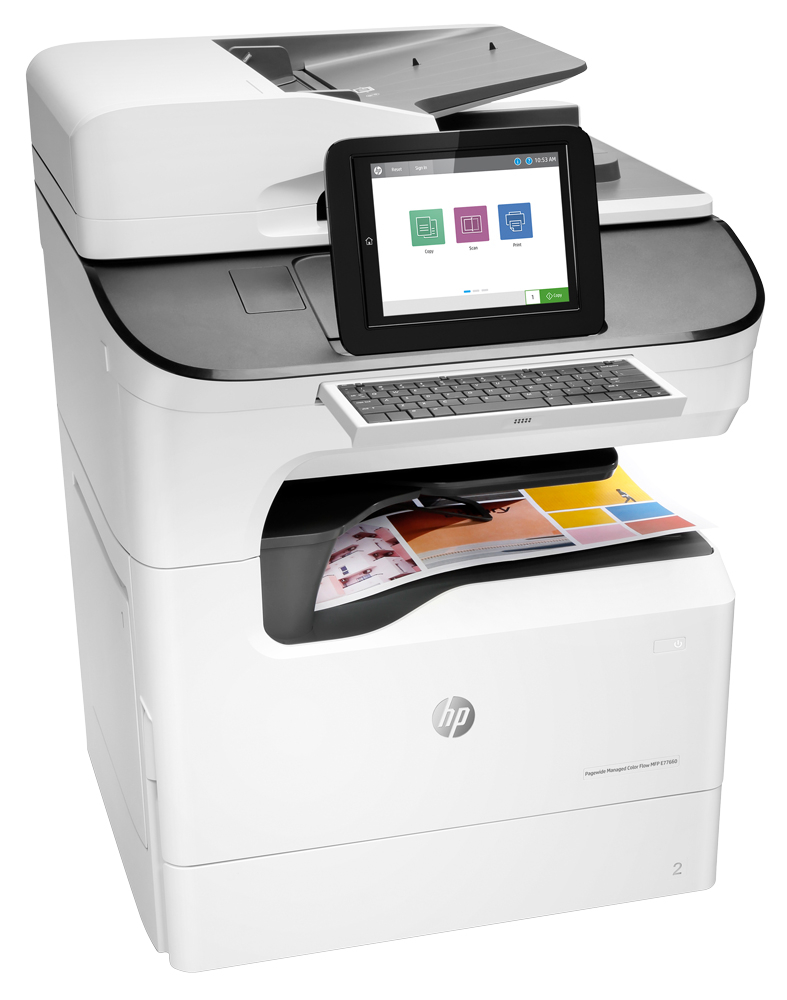 HP PageWide Managed Color Flow MFP E77660z Color Laser MFP, Demo (J7Z03A)
