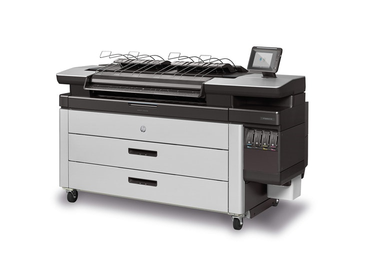 HP PageWide XL 4100 40-in MFP with Top Stacker , Demo (J2V02A)