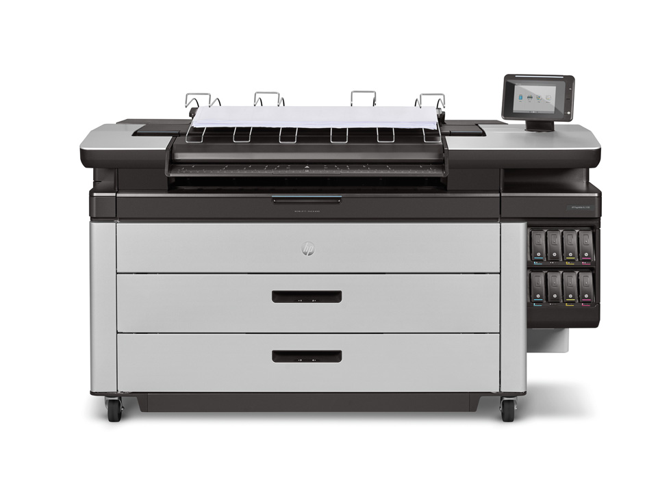 HP PageWide XL 5100 with Top Stacker , Demo (2RQ09C)