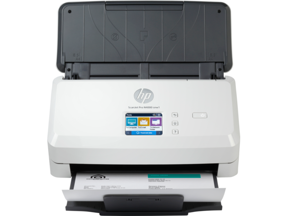 HP Scanjet Pro N4000 snw1 Sheet-feed  Scanner, Demo (6FW08A)