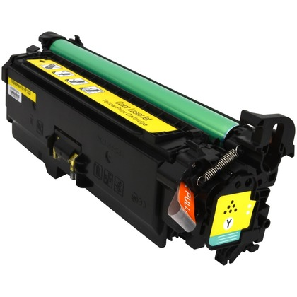 HP 504A Toner Cartridge - Yellow, Premium Compatible (CE252A)
