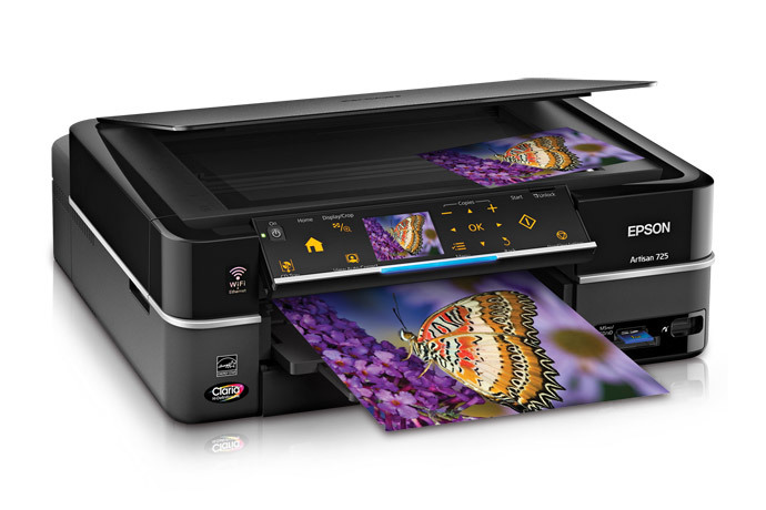 Epson Artisan 725 Color Inkjet MFP, Fully Refurbished (C11CA74201)