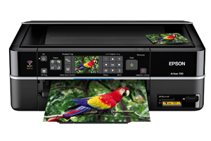 Epson Artisan 700 Color Inkjet MFP, Fully Refurbished (C11CA30201)
