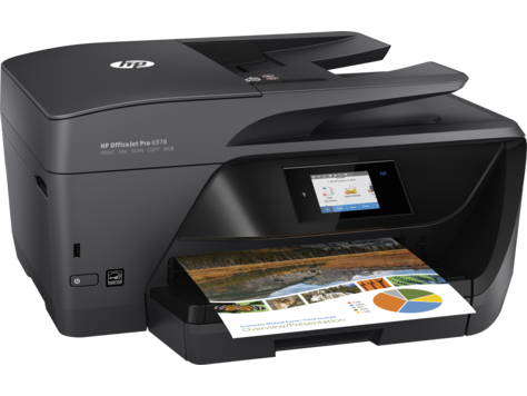 HP OfficeJet Pro 6978 Color Inkjet MFP, Fully Refurbished (T0F29A)