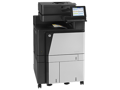 HP Color LaserJet Enterprise flow M880z+ Color Laser MFP, Fully Refurbished (A2W76A)