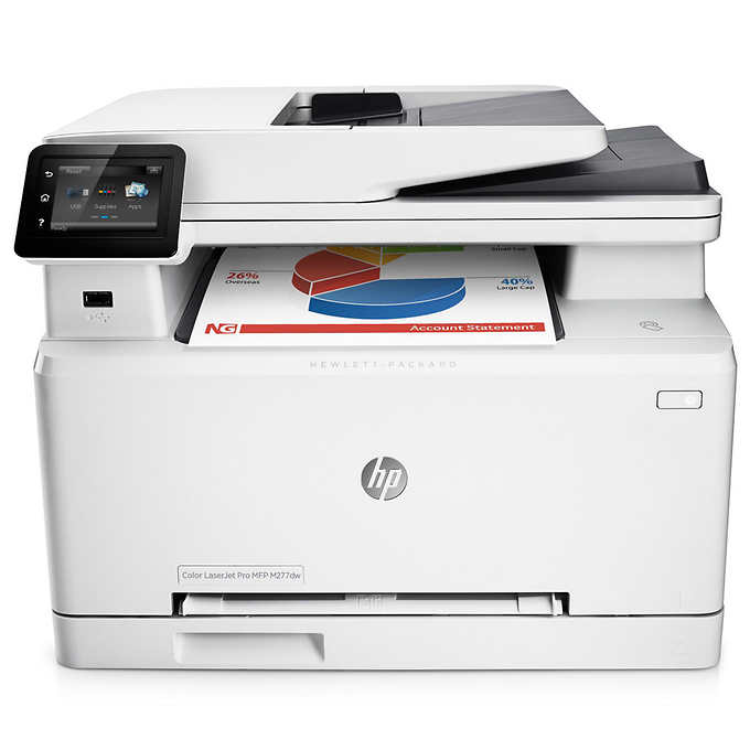 HP Color LaserJet Pro M277 Color Laser MFP, Fully Refurbished (B3Q17A)