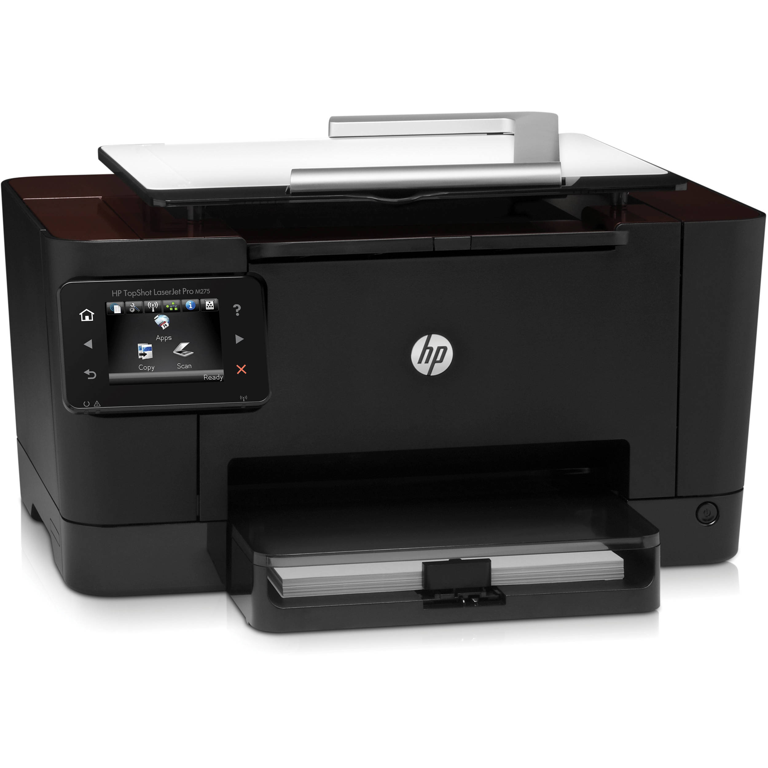 HP TopShot LaserJet Pro M275 Color Laser MFP, Fully Refurbished (CF040A)