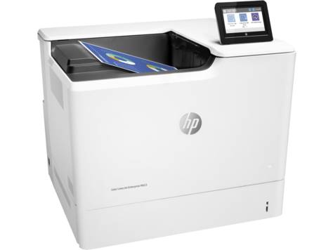 HP Color LaserJet Enterprise M653dh Color Laser Printer, Fully Refurbished (J8A06A)