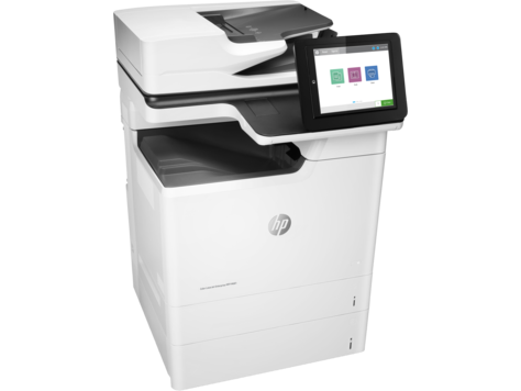 HP Color LaserJet Enterprise M681dh Color Laser MFP, Fully Refurbished (J8A10A)