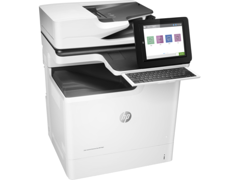 HP Color LaserJet Enterprise Flow M681f Color Laser MFP, Fully Refurbished (J8A12A)