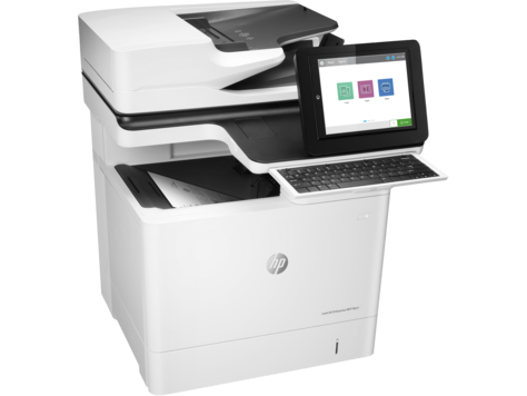 HP LaserJet Enterprise Flow M631h Mono Laser MFP, Fully Refurbished (J8J64A)