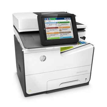 HP PageWide Managed Color E58650dn Color Inkjet MFP, Fully Refurbished (L3U42A)