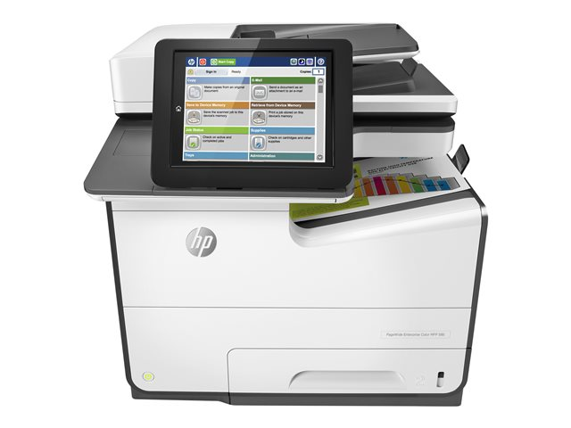 HP PageWide Managed Color Flow E58650z Color Inkjet MFP, Fully Refurbished (L3U43A)