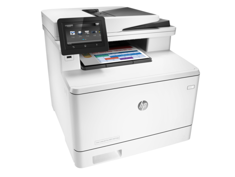 HP Color LaserJet Pro M377dw Color Laser MFP, Fully Refurbished (M5H23A)