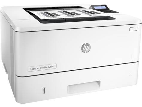 HP LaserJet Pro M402dne Mono Laser Printer, Fully Refurbished (C5J91A)
