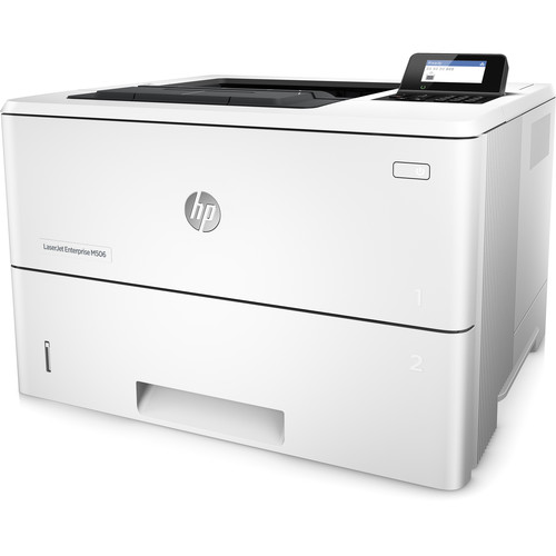 HP LaserJet Enterprise M506dh Mono Laser Printer, Fully Refurbished (F2A71A)