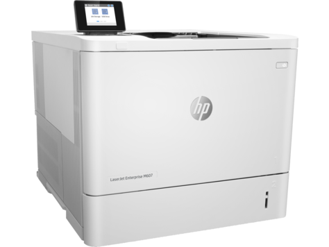 HP LaserJet Enterprise M607n Mono Laser Printer, Fully Refurbished (K0Q14A)