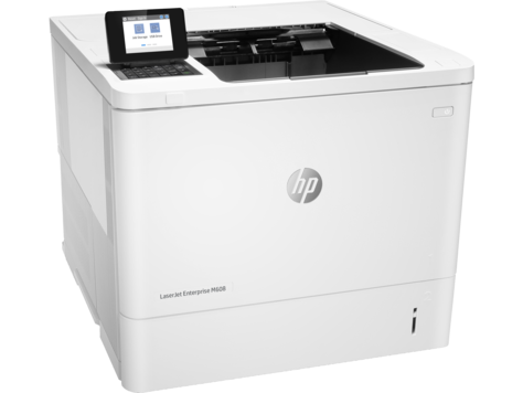 HP LaserJet Enterprise M608n Mono Laser Printer, Fully Refurbished (K0Q17A)