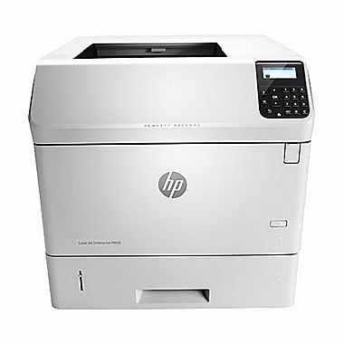 HP LaserJet Enterprise M605dh Mono Laser Printer, Fully Refurbished (L4W89A)