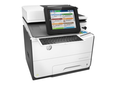 HP PageWide Enterprise Color Flow 586z Color Inkjet MFP, Fully Refurbished (G1W41A)