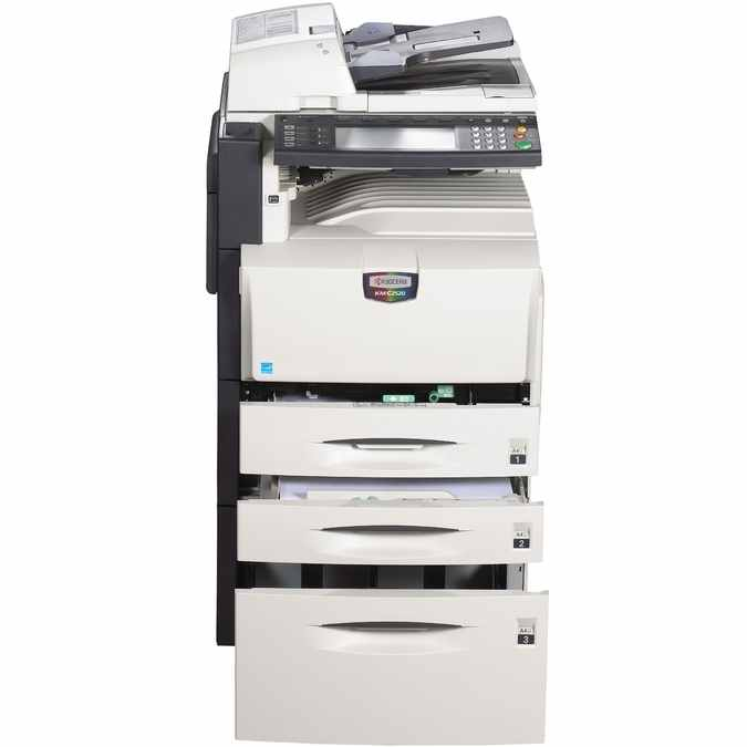Kyocera Copystar CS-C2520 Color Laser MFP, Fully Refurbished (KM-C2520)