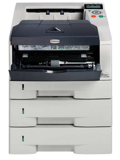 Kyocera ECOSYS FS-1350DN Mono Laser Printer, Fully Refurbished (FS-1350DN)