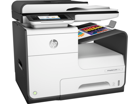 HP PageWide Pro 477dw Color Inkjet MFP, New (D3Q20D)